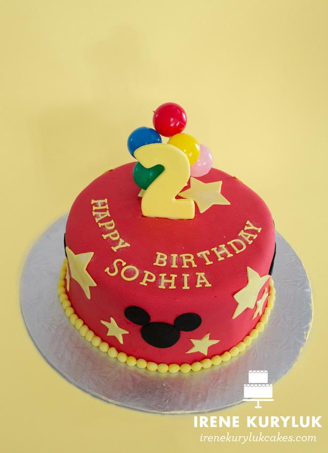 Mickey Irene Kuryluk Cakes